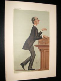 Vanity Fair Print 1887 Rt, Hon Henry Mathews
